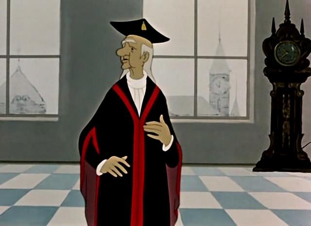 Двенадцать месяцев, мультфильм, 1956 год. Youtube.